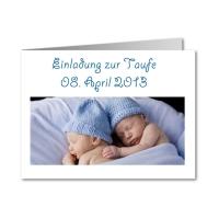 Zwillingsratgeber taufkarten-zwillinge Tauf- und Geburtsanzeigen - Karten zur Zwillingsgeburt