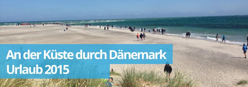 Zwillingsratgeber daenamekr Dänemark - Tour an der Küste lang