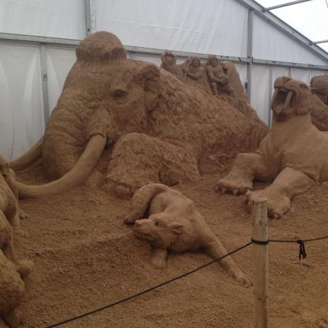 Sandskulpturen-Festival  2016 in Binz