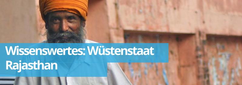 Zwillingsratgeber wueste Wissenswertes: Bundesstaat Rajasthan