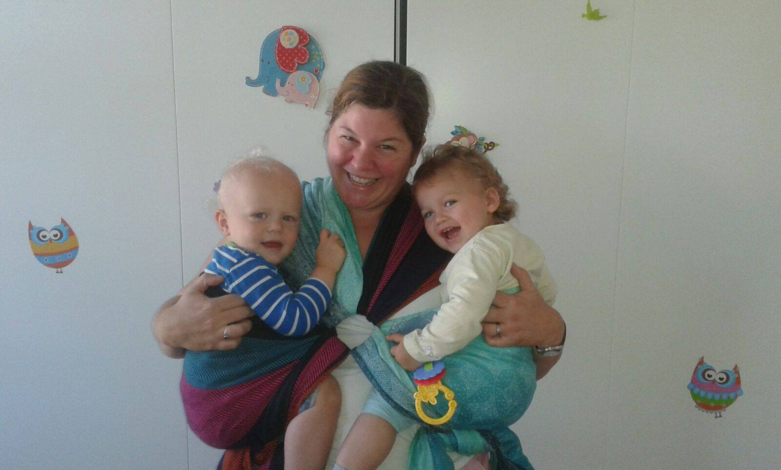 Zwillingsratgeber maria-kuschelsack-trageberatung Zwillinge tragen - welches Tragetuch für Zwillinge?