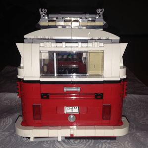 Zwillingsratgeber Lego-Aufbau-fertig-Camper LEGO® CREATOR VW T1 Camper