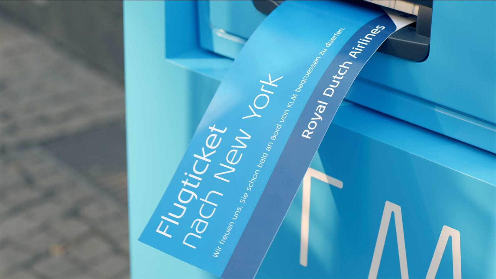 Zwillingsratgeber KLM-radiosender-bank-restaurant-fluglinie Anzeige: Schon mal was von KLM gehört?