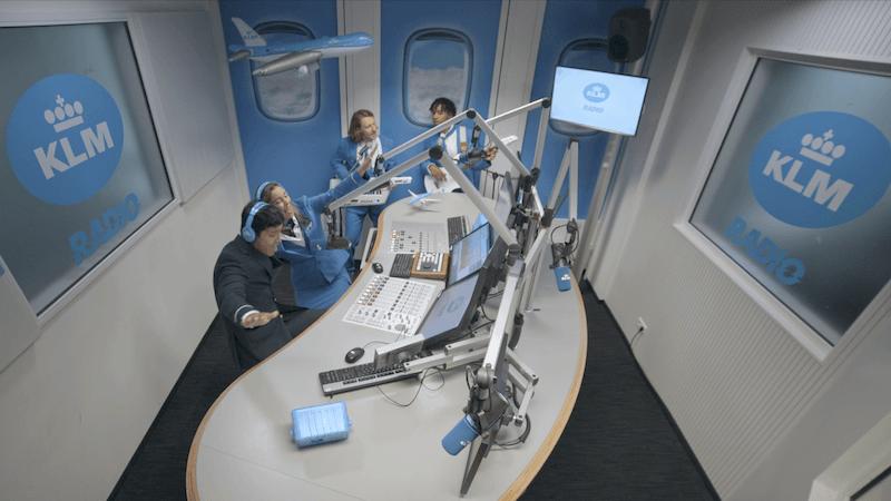 Zwillingsratgeber KLM_Radio Anzeige: Schon mal was von KLM gehört?