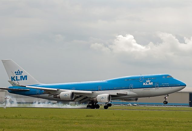 Zwillingsratgeber klm-flugzeug-634x433 Anzeige: Schon mal was von KLM gehört?