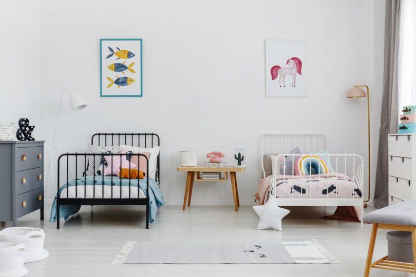 Zwillingsratgeber zwillingskinderzimmer-810x540 Einrichtungs-Tipps für ein modernes Zwillingskinderzimmer (Geschwisterkinderzimmer)