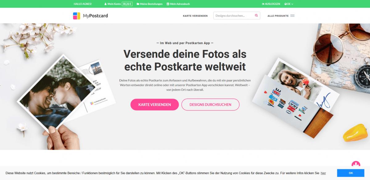 Zwillingsratgeber Screenshot_2019-09-10-Echte-Foto-Postkarten-Online-gestalten-versenden-Deine-Postkarten-App-Verschicke-Deine-gedruckten-Fot...1 Werbung: App: MyPostcard – so kommen Eure Kartengrüße gut an
