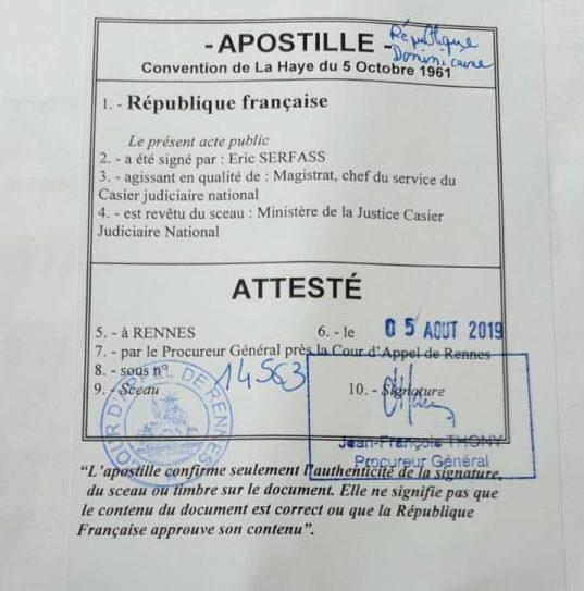 Zwillingsratgeber apostile-frankreich-e1568023595139 Studentenvisum & Studieren - Dominikanische Republik