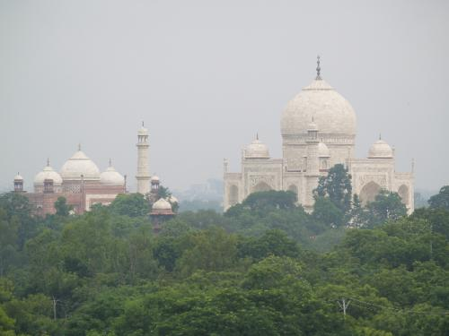 Zwillingsratgeber p1011981 Fahrt zum Taj Mahal